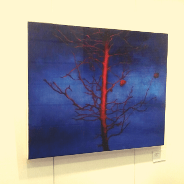 Painting in one of the Barcelona Art Galleries | ForeverBarcelona