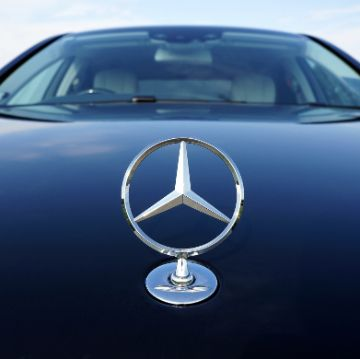 Mercedes car used in chauffeured tours