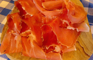 Cured Spanish ham types