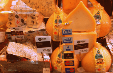 Spanish Cheese: Teta Gallega and Cabrales