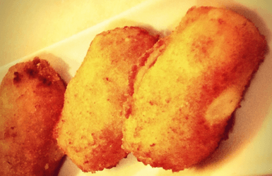 Barcelona Vegetarian tapas: Croquettes