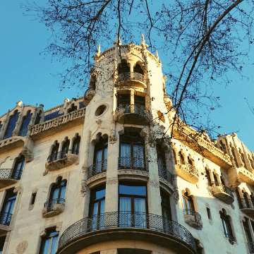 View of Casa Fuster Hotel