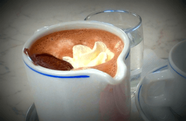 New Year in Barcelona ends with hot chocolate