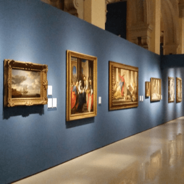 Paintings in one of the Barcelona Museums for Art Lovers | ForeverBarcelona