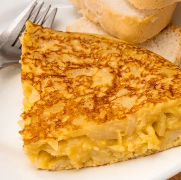 Spanish tortilla made from our recipe   ForeverBarcelona