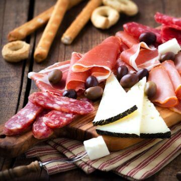 Platter of Spanish Cold Cuts