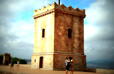 What to see on Montjuic: Castle at the top of Montjuic Hill
