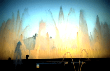 Things to do in Montjuic Park Magic Fountain