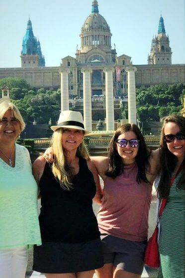Ladies on a Two Days in Barcelona private tour