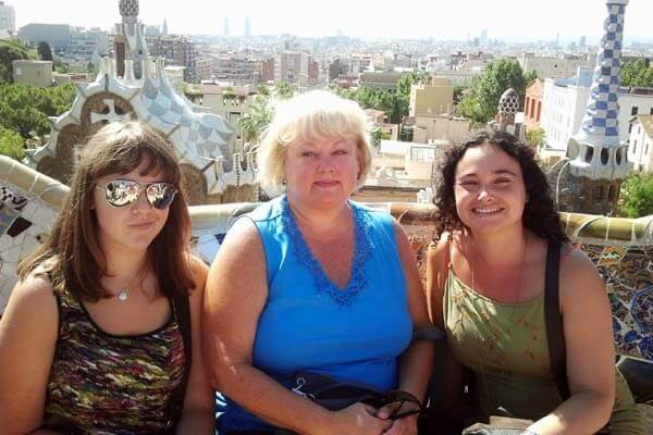 Ladies on our All Gaudi Day Tour