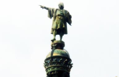 Port Vell of Barcelona: Columbus