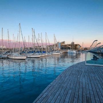 Barcelona Marina in Port Vell