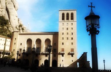Montserrat visit: the monastery