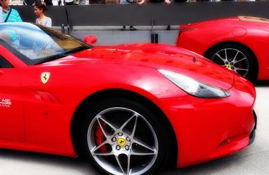 Barcelona luxury experiences: drive a Ferrari