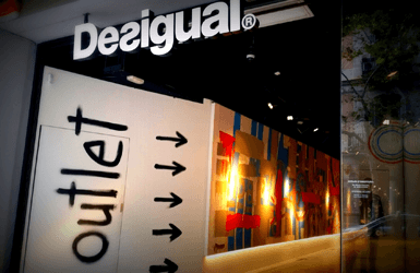 Favorite outlets in Barcelona: Desigual