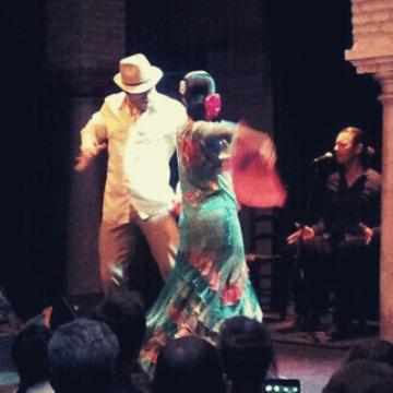 Flamenco dancers, a must when you visit Seville (Spain)