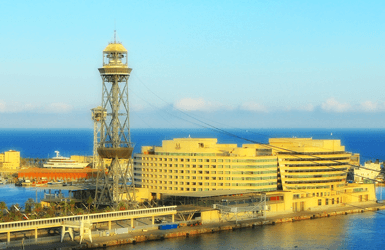 Hotel with sea views in Barcelona: Grand Marina