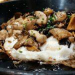 Spanish egg dishes: scrambled eggs