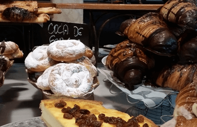 Spanish pastries: Ensaimadas