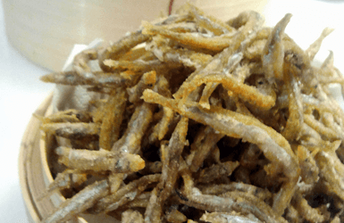 Spanish Fish Dish: sardines