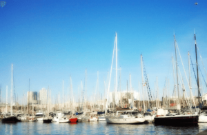 Time to go boating in Barcelona