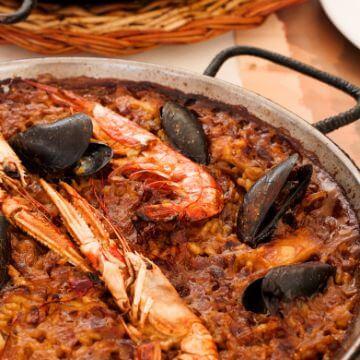 Paella in one of the Best restaurants Barceloneta