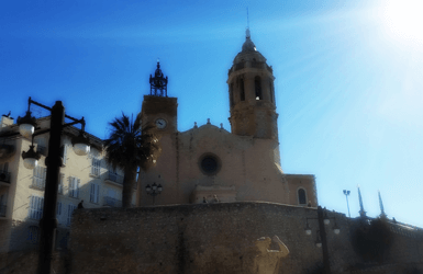 what to see in Sitges: Santa Tecla
