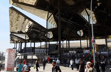 Barcelona open-air market: Els Encants