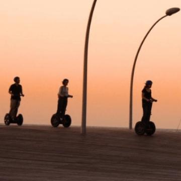 Barcelona rides: Segways