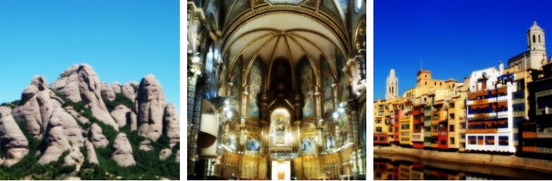 Highlights of our Girona and Montserrat Tour from Barcelona