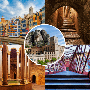 Moments of our Montserrat and Girona Tour from Barcelona