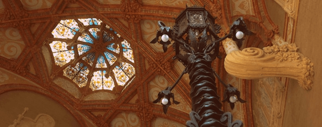 Top works of Domenec i Muntaner in Barcelona