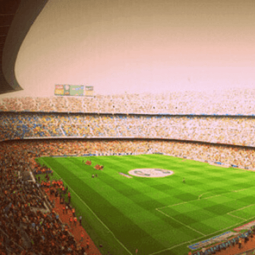 Eat at a restaurant near Camp Nou before visiting the stadium