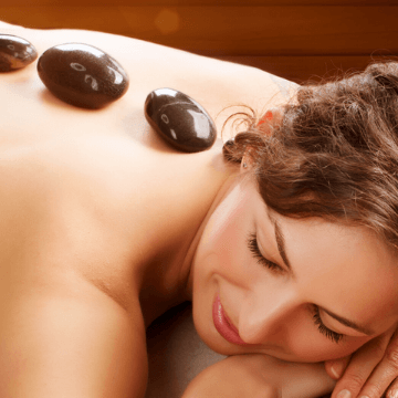 Lady receiving a treatment in one of the spas barcelona spain