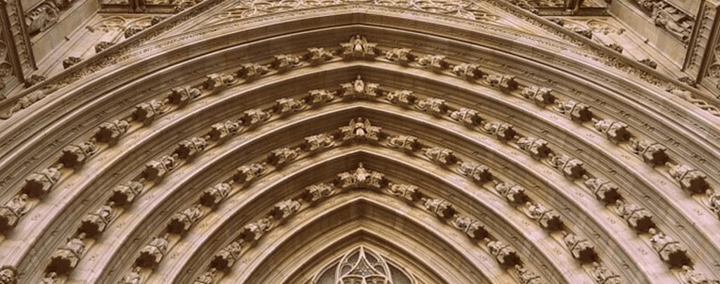 Top churches Barcelona Spain