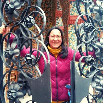Barcelona private tour guide Miriam
