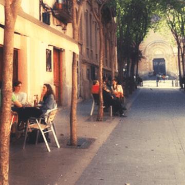 Spain Barcelona: Gracia restaurants