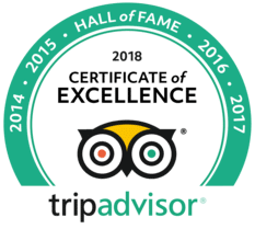 Tripadvisor Hall of Fame Logo