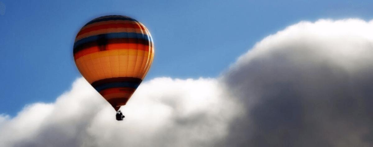 Hot Air Balloon near Barcelona
