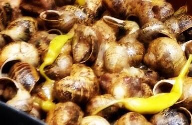 Snails eaten in Aplec del Cargol