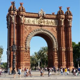 Barcelona Arc of Triumph