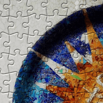 Example of Barcelona Jigsaw puzzles