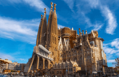 What to see in Barcelona for four days: Sagrada Famiilia