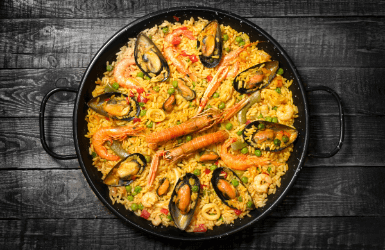 Origins of paella