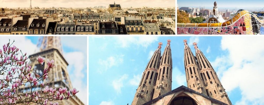 Paris vs Barcelona Travel