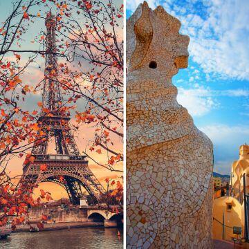 Paris vs Barcelona Travel comparison