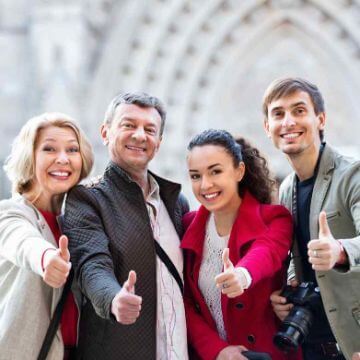 People who followed our tips to choose the right private tour for you