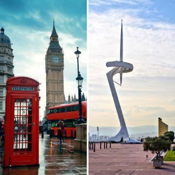 London vs Barcelona Travel comparison