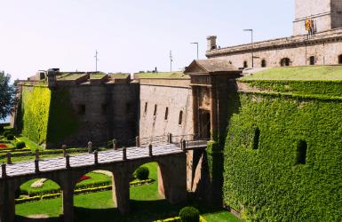 Castles in Barcelona Spain