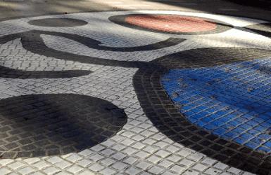 Barcelona mosaic tiles